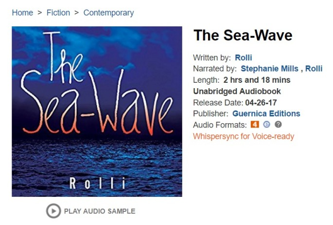 The Sea Wave Audiobook Rolli Audible.com
