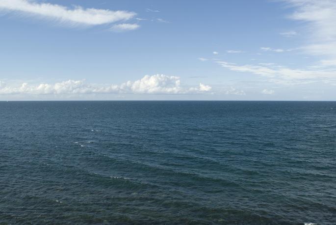Blue Ocean Panorama